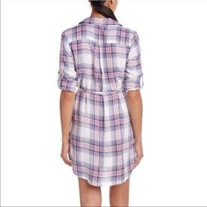 C&C California Dresses - C&C California   Plaid Shirt Dress NWT   XS